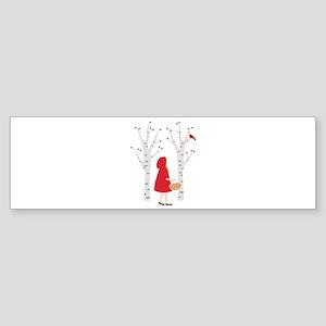 Red Riding Hood Bumper Sticker