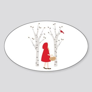 Red Riding Hood Sticker