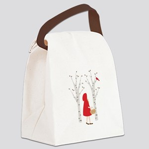 Red Riding Hood Canvas Lunch Bag