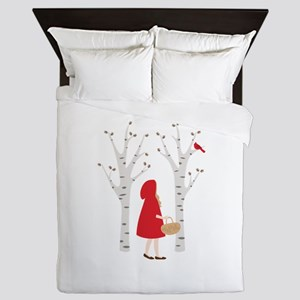 Red Riding Hood Queen Duvet