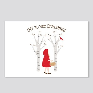 Off To See Grandma! Postcards (Package of 8)