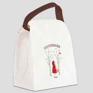 Little Red Riding Hood Canvas Lunch Bag