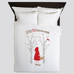 Little Red Riding Hood Queen Duvet