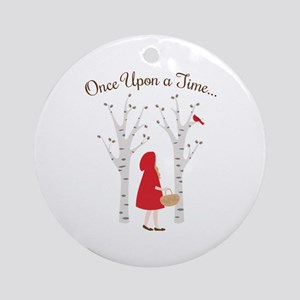 Once Upon A Time... Ornament (Round)