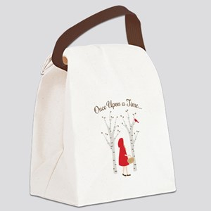 Once Upon A Time... Canvas Lunch Bag