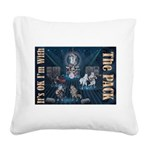 Its OK Square Canvas Pillow