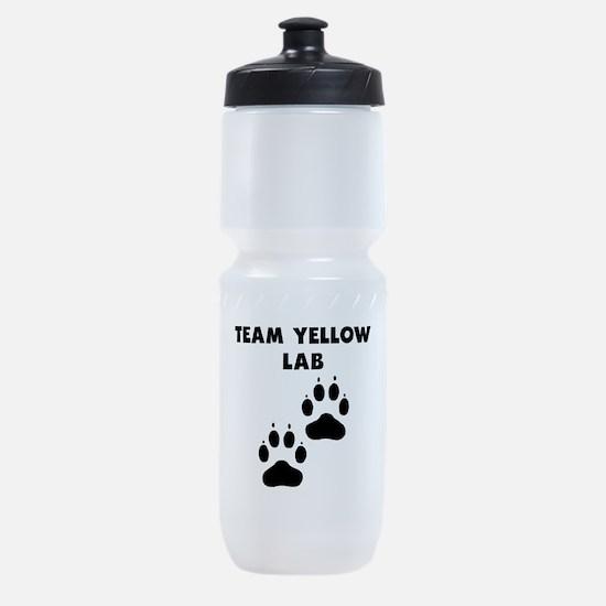 Team Yellow Lab Sports Bottle