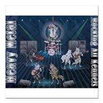 Heavy Metal Square Car Magnet 3