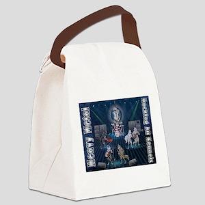Heavy Metal Canvas Lunch Bag