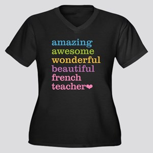 French Teacher Plus Size T-Shirt