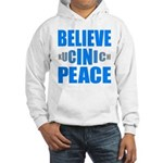 Believe in Peace Hooded Sweatshirt