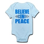 Believe in Peace Infant Bodysuit