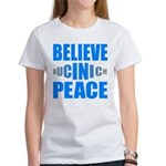 Believe in Peace Women's T-Shirt