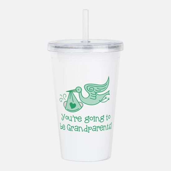 Going to be Grandparen Acrylic Double-wall Tumbler