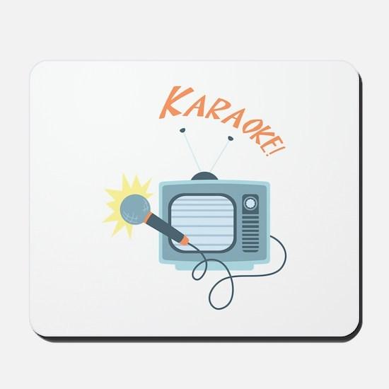 Karaoke TV Mousepad