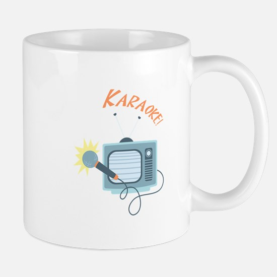 Karaoke TV Mugs
