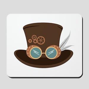 Steampunk Hat Mousepad