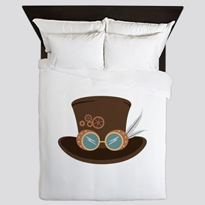 Steampunk Hat Queen Duvet