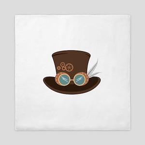Steampunk Hat Queen Duvet