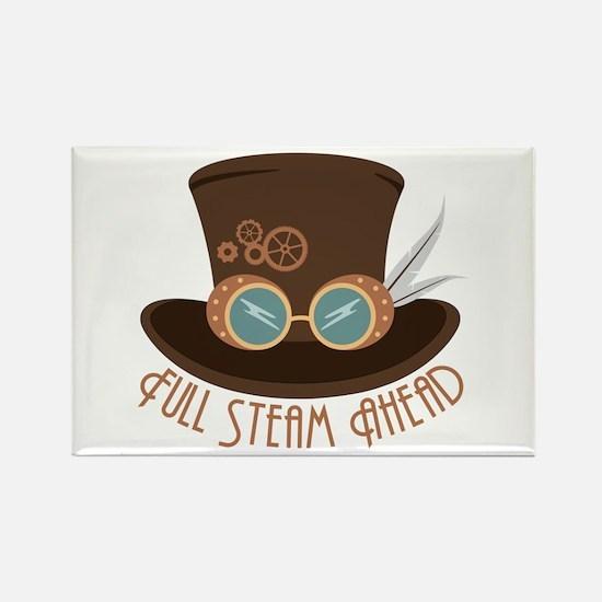 Full Steam Ahead Magnets