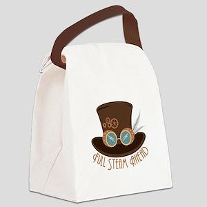 Full Steam Ahead Canvas Lunch Bag