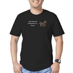 Christmas Pony Men's Fitted T-Shirt (dark)