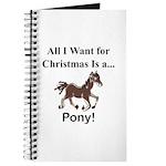 Christmas Pony Journal