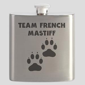 Team French Mastiff Flask
