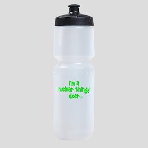 nuclear doer Sports Bottle