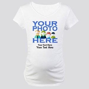 Personalize It Custom Maternity T-Shirt