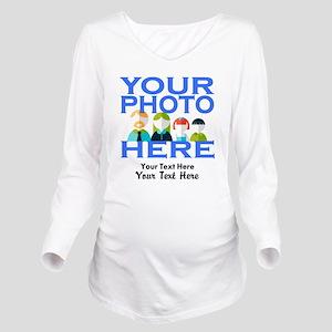Personalize It Custo Long Sleeve Maternity T-Shirt