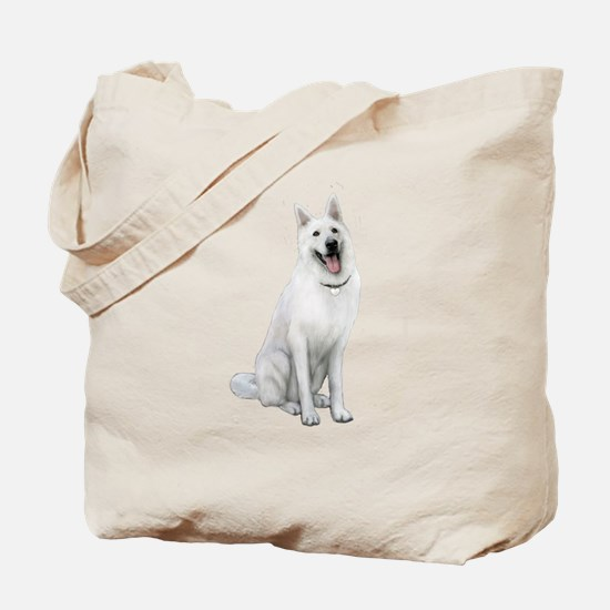 German Sheperd (gp) Tote Bag