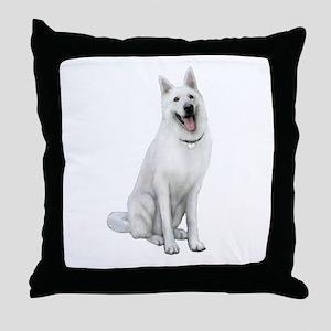 German Sheperd (gp) Throw Pillow