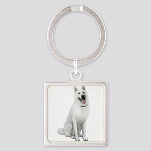 German Sheperd (gp) Square Keychain