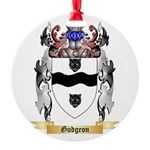 Gudgeon Round Ornament