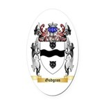 Gudgeon Oval Car Magnet