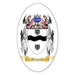 Gudgeon Sticker (Oval)