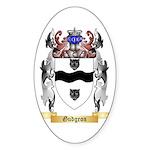 Gudgeon Sticker (Oval 50 pk)