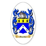Guardia Sticker (Oval 50 pk)