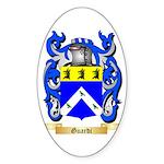 Guardi Sticker (Oval 10 pk)