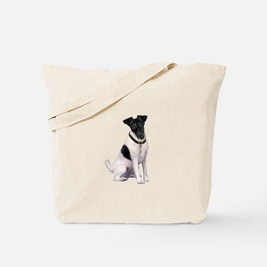 Smooth Fox T - (bw) Tote Bag