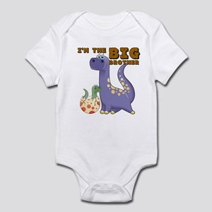 Big Brother Dinosaur Infant Bodysuit
