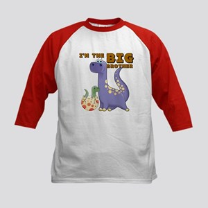 Big Brother Dinosaur Kids Baseball Jersey