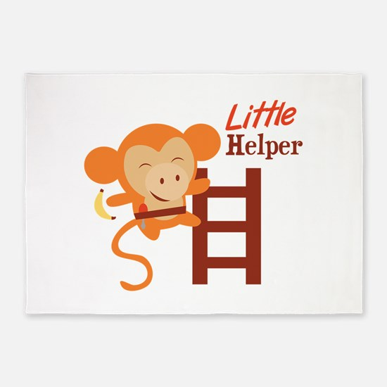 Little Helper 5'x7'Area Rug