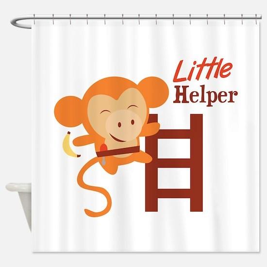 Little Helper Shower Curtain