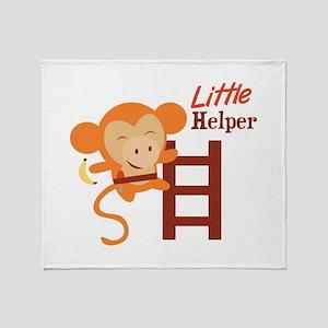 Little Helper Throw Blanket