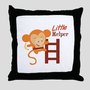Little Helper Throw Pillow
