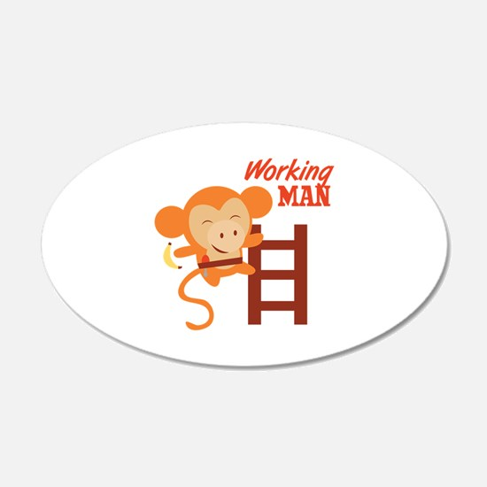 Working Man Wall Decal