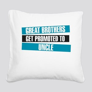 Great Brothers Get Promoted to Uncle Square Canvas