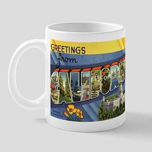 Greetings from California Mug